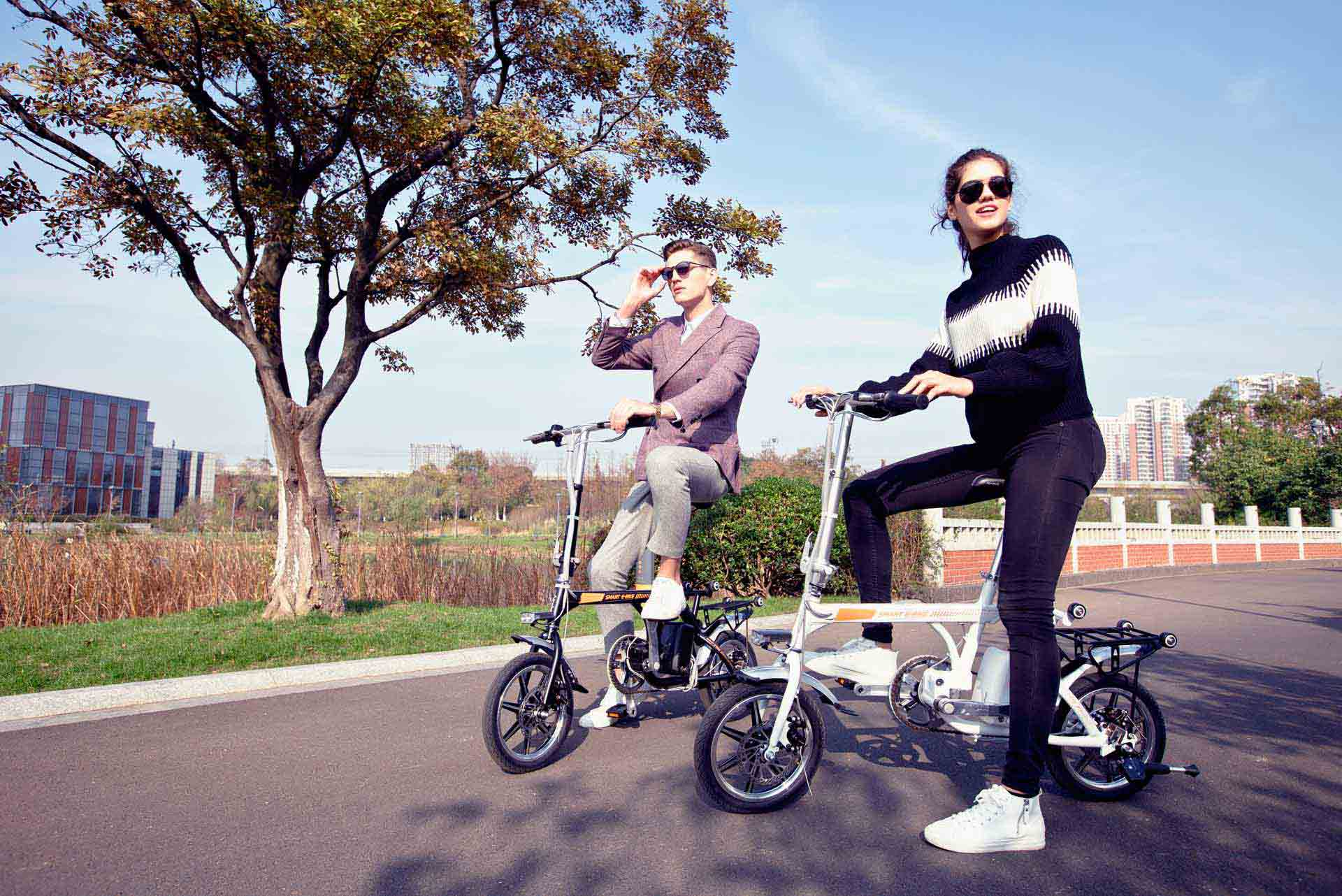 Airwheel Folding Smart Bike